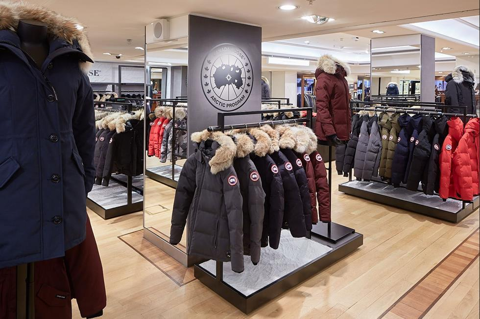 canada goose shop london